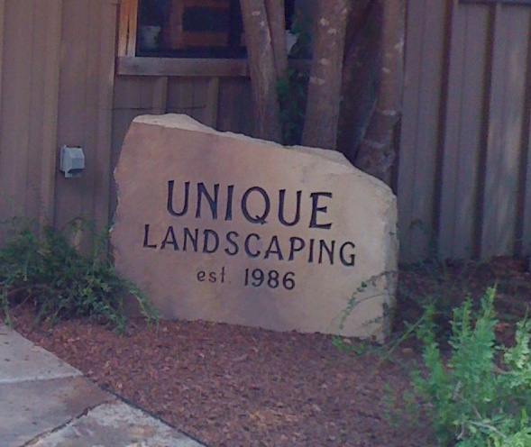 Landscape Rock With Engraving : Spence monument company landscape rocks